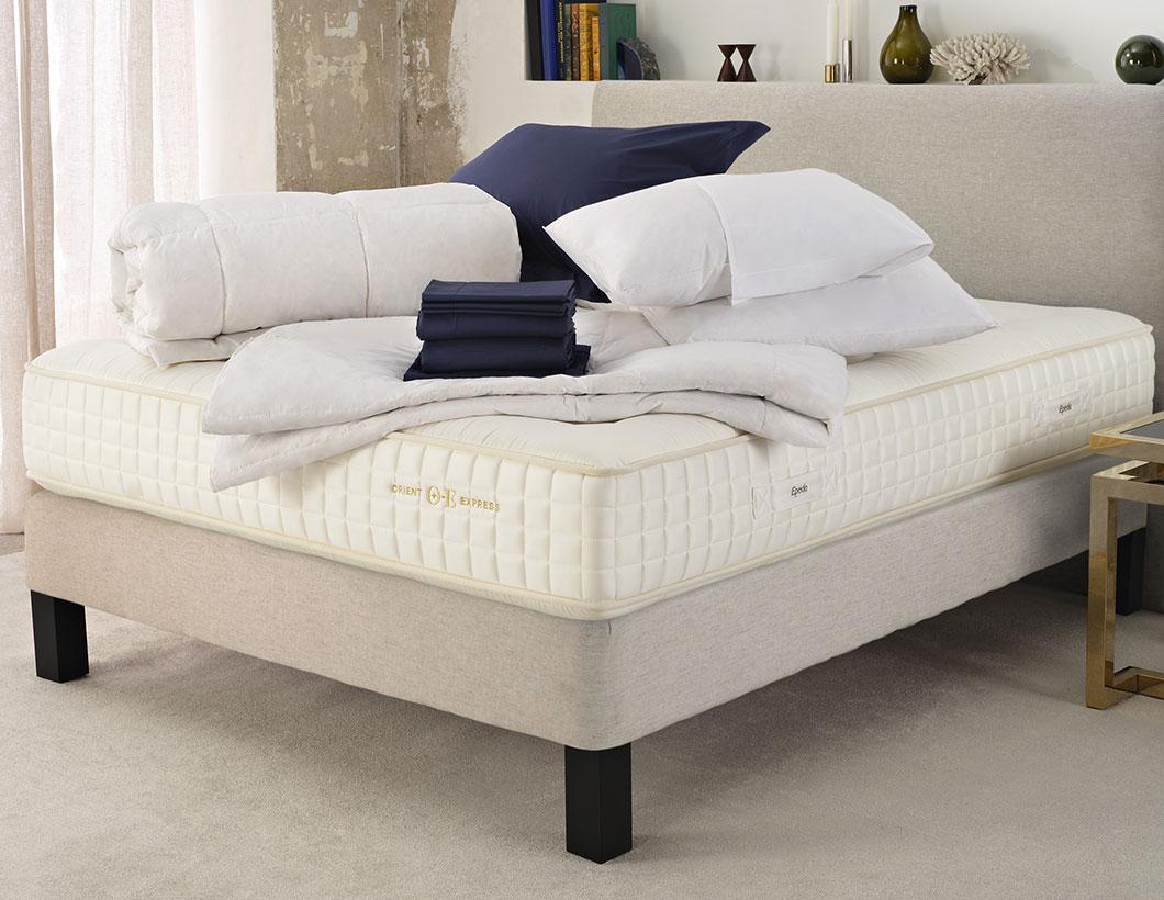 Orient Express Bed & Sateen Bedding Set