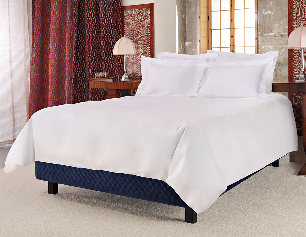 Orient Express Luxe Bed & Percale Bedding Set