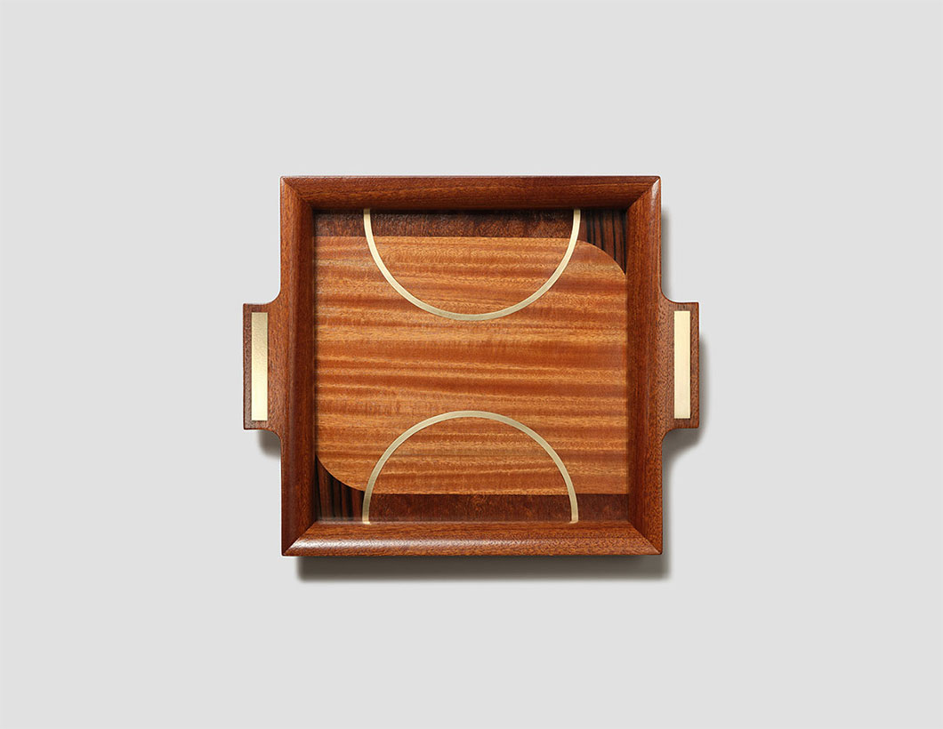 Philippe Allemand Square Tray